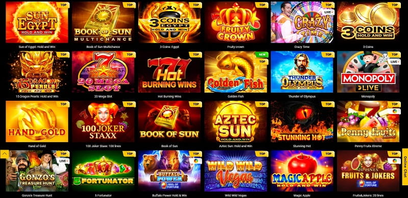 Spinamba Casino Spiele