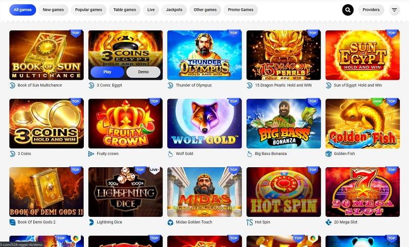 Slottica Casino Jeux